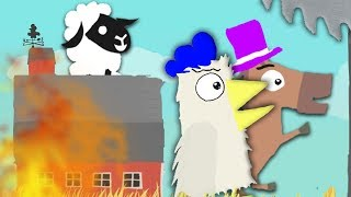 Die super Farm「Ultimate Chicken Horse」