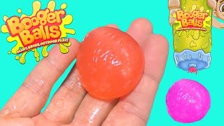 Booger Balls Live Tossing Slimy Gross Boogers - How to make Boogers by DCTC