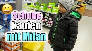Schuhe kaufen mit Milan | Haul | Familien Vlog | Filiz