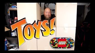 I ONLY PAID $98 for a $2,000 Valued Amazon Customer Returns TOYS & LEGO Pallet