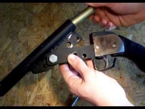 Гладкоствольное оружие своими руками