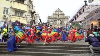 Macao parade to mark the 18th anniversary of its return to China