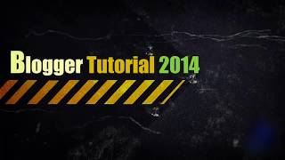 How to Create a Blogger Blog Step by Step Tutorial   Blogger Beginners! Tutorial 2014