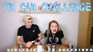 EXTREME TIN CAN CHALLENGE | GIRLFRIEND vs BOYFRIEND