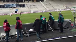 Stadium announcer escalates completely after goal in Last Minute /// Erzgebirge Aue 2:2 Hannover 96