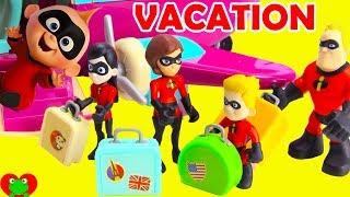 Family Vacation Disney Pixar Incredibles 2 Forgetting Jack Jack