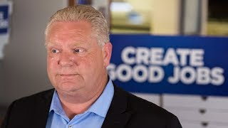 Doug Ford recorded trying to sell