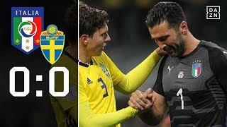 Sensation! Italien verpasst die WM: Italien - Schweden 0:0   Highlights   WM-Quali   DAZN