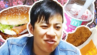 Americans Try Japanese McDonald