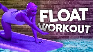 Trying FLOATING Yoga?! (Get Jacked)