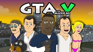 ♪ GRAND THEFT AUTO 5 THE MUSICAL - GTA V Rap Parody