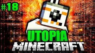 Der KNUFFIGE ROBOTER?! - Minecraft Utopia #018 [Deutsch/HD]