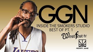 Get High With Snoop Dogg & His Celebrity Friends In the Best of the Smokers Studio Vol. 1 | GGN
