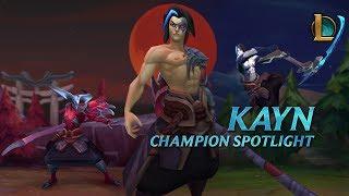 Kayn Champion Spotlight | Gameplay - League of Legends
