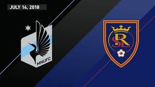 HIGHLIGHTS: Minnesota United FC vs. Real Salt Lake   July 14, 2018