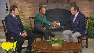 Tiger Woods' Interview In Butler Cabin