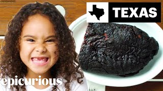 Kids Try BBQ From 10 States   Bon Appétit