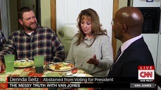 "Van Jones visit family who vote for Obama then switched to Trump, ""Both Times we voted for change"""