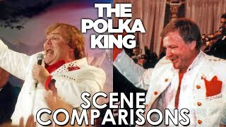 The Polka King (2017) and The Man Who Would Be Polka King (2009) - scene comparisons