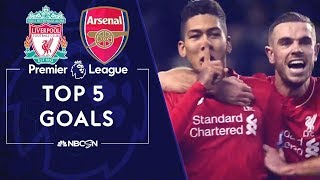 Top five Premier League goals in Liverpool-Arsenal rivalry | NBC Sports