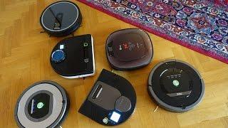 Review: 6 robotic vacuum cleaners (english subtitles)
