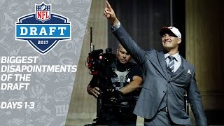 Biggest Disappointments of the 2017 NFL Draft | NFL Network