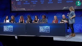 Blizzcon 2017 World of Warcraft Voice Actress