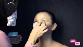 Tutorial Make Up Smokey Eyes by Sanggar LIZA