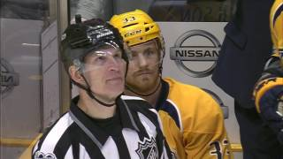 Players, fans and Laviolette confused by Predators penalty after goal