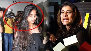 Angry Kajol LASHES Media For Bullying Shahrukh's Daughter Suhana