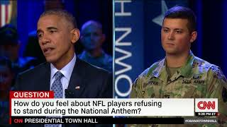 Obama Vs. Trump On NFL Player Protests
