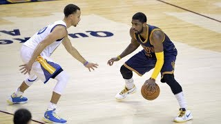 Kyrie Irving Top 10 Crossovers & Handles on Warriors