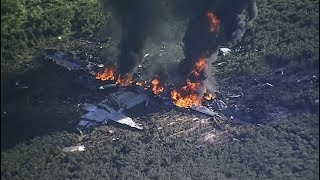 16 dead after U.S. military plane crashes in Mississippi