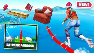 Floating EXTREME PARKOUR In Fortnite Creative!