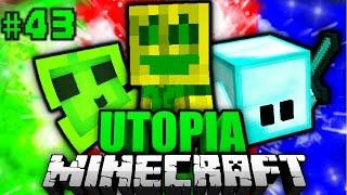 CHAOS im KINDERGARTEN?! - Minecraft Utopia #043 [Deutsch/HD]