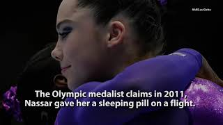"""Olympic Gold Medal Gymnast """"I Was Molested By A Team Coach"""""""
