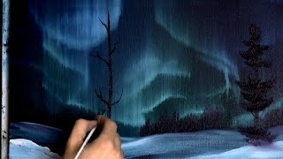 Auroral Display - Painting Lesson
