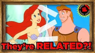 Film Theory: Ariel is RELATED to Hercules?! (Disney's Connected Universe)