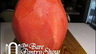 Quickest Simplest Way to Peel a Watermelon