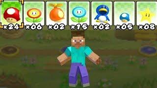 Was passiert, wenn Steve (Minecraft) Mario