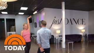 Watch Megyn Kelly And Derek Hough Fulfill A Mom's Dream Of Dancing   TODAY