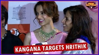 Kangana Ranaut Targets Hrithik Roshan Again | Bollywood News