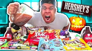 CHOCOLATIEST DRINK IN THE WORLD CHALLENGE (EXTREMELY DANGEROUS)