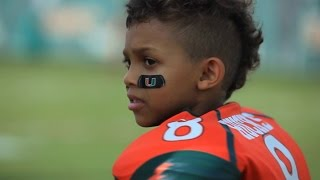 Miami Football Team Makes a Dream Come True For Carter Hucks (Make-A-Wish)