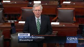 Word for Word: Sen. McConnell on Born-Alive Abortion Survivors Protection Act (C-SPAN)