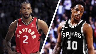 KAWHI LEONARD TRADED! DEROZAN UPSET! *SECRET INFO*