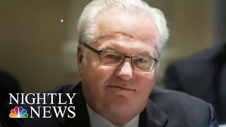 Russian Amb. To The UN Vitaly Churkin Dies Unexpectedly In New York City   NBC Nightly News