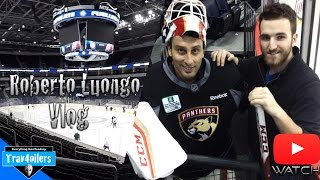 Meeting w/ Roberto Luongo Vlog \ Panthers Morning Skate @ MTS Centre [HD]