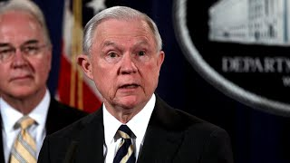 President Trump continues attacks on AG Sessions