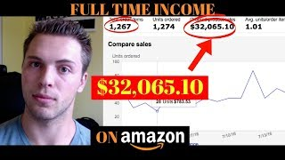 How I Find Products That Make Me $30,000 Per Month On Amazon With No Experience **Late 2017 Method**